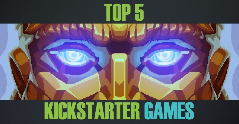 Top 5 LATEST Games on Kickstarter 2017
