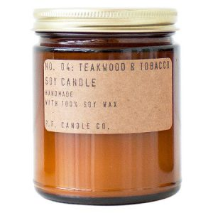 teakwood and tobacco scent