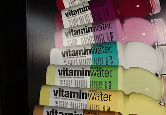 Vitamin Water & Flavoured Water