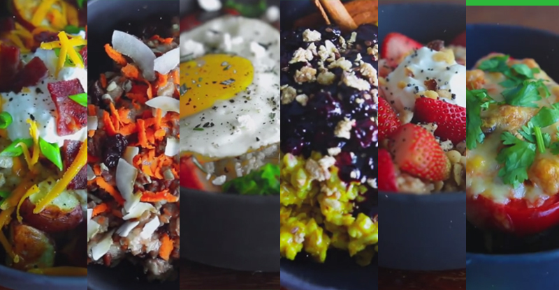 6 Easy Sweet & Savory Easy Oatmeal Recipes