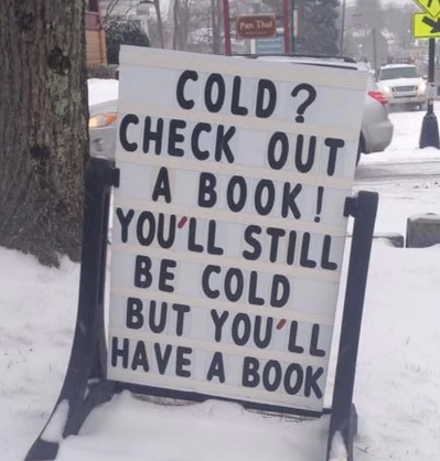 You're in luck Cold