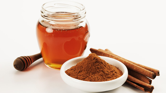 2 Tablespoon Honey & 1 Tablesppon Cinnamon